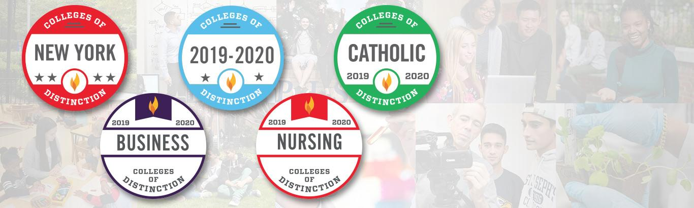 """St. Joseph's Among """"Best Colleges of Distinction"""""""