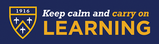 Keep calm and carry on Learning