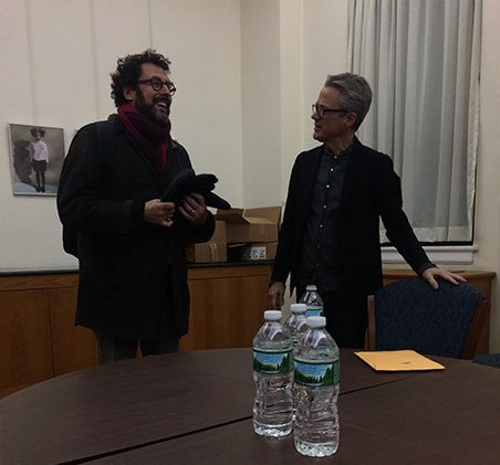 Tony Kushner and Ken Corbett