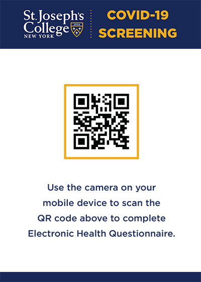 QR code for Electronic Health Quesionnaire Sign