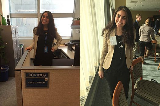 Jasmine at the United Nations