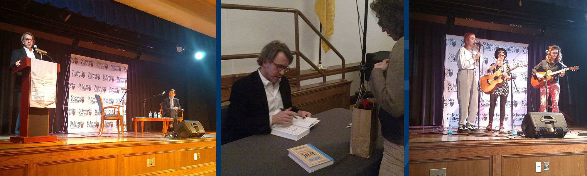 Colin Beavan and Dan Harris; Colin Beavan book signing; The Special Someones