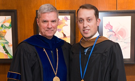 SJC Alumnus Receives Saint Catherine Medal