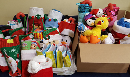 SJC Long Island Students are in the Spirit of Giving